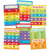 Carson Dellosa CD-110443BN Phonics Phonics Bulletin Board Set - Pack of 2