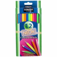 Sargent Art SAR227241BN Neon Colored Pencils, Pack of 3 - 1