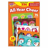 Trend Enterprises T-83919BN All-Year Cheer Scratch N Sniff Stinky Stickers Variety Pack, Pack