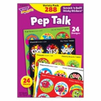 Trend Enterprises T-83920BN Pep Talk Scratch N Sniff Stinky Stickers Variety Pack, Pack of 2 - 1