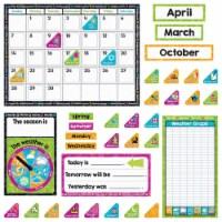 Trend Enterprises T-8430BN Color Harmony Calendar Bulletin Board Set, Set of 2