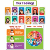 Scholastic Teaching Resources SC-834481BN Our Feelings Bulletin Board Set, Set of 2
