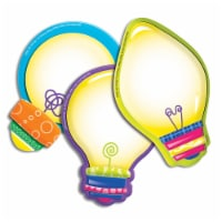 Eureka EU-841006BN Color My World Light Bulbs Assorted Paper Cut Outs, Pack of 6 - 1