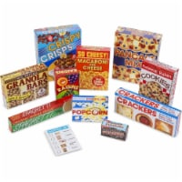 Melissa & Doug LCI5501BN Lets Play House Grocery Shelf Boxes - 3 Piece