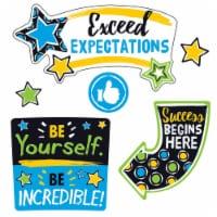 Educators Resource T-8391BN Bold Strokes Phrases Bulletin Board - Set of 2