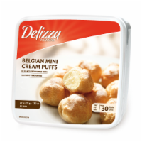 Delizza Belgium Mini Cream Puffs 30 Count