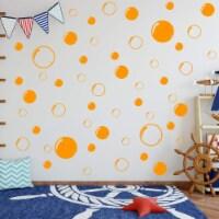 VWAQ Bubbles Wall Stickers - Bathroom Decals Peel and Stick Decor - 52 PCS - 1