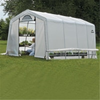 ShelterLogic 70658 10x20x8 ft. - 3x6,1x2,4 m - 5 - Rib Peak Style Grow It Greenhouse-in-a-Box