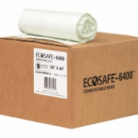 Ecosafe-6400 Trash Bag,35 gal.,Green,PK135  HB2844-8 - 1