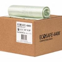 Ecosafe-6400 Trash Bag,35 gal.,Green,PK135  HB3339-8