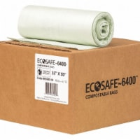 Ecosafe-6400 Trash Bag,39 gal.,Green,PK90  HB3550-8