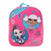 LOL Surprise Mini School Backpack - Rock n Roll 12 Inches - 1