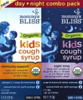 Mommy's Bliss Organic Kids Cough Syrup & Mucus Relief + Immunity Boost Liquid Combo Pack