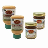 Amish Door Village Homemade Applebutter and Peanut Butter Whip Traditional Spread Bundle