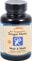 Dragon Herbs Hair & Nails Dietary Supplement Vegetarian Capsules 500mg