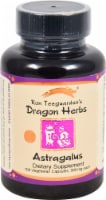 Dragon Herbs Astragalus Dietary Supplement Vegetarian Capsules 500mg