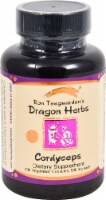 Dragon Herbs Cordyceps Dietary Supplement Vegetarian Capsules 500mg