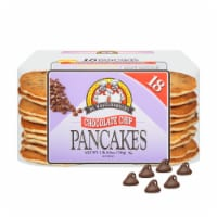 De Waflebakkers Chocolate Chip Pancakes 18 Count
