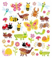 StickerKing Butterfly & Bug Stickers - 1 ct