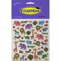 Sticker King Stickers-Zoo Fun - 1