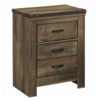 Bowery Hill 2 Drawer Night Stand in Brown - 1