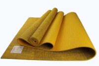Jute Premium ECO Yoga Mat (Turmeric) - 1