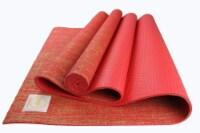Jute Premium ECO Yoga Mat (Red)