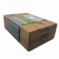 Bamboo Yoga Block - 1