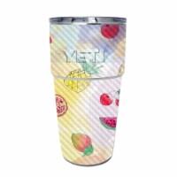 MightySkins CF-YEPINT16SI-Fruit Water Carbon Fiber Skin for Yeti Rambler 16 oz Stackable Cup - 1