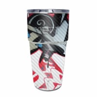 MightySkins CF-YEPINT16SI-Graffiti Mash Up Carbon Fiber Skin for Yeti Rambler 16 oz Stackable