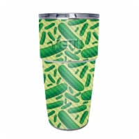 MightySkins CF-YEPINT16SI-Pickles Carbon Fiber Skin for Yeti Rambler 16 oz Stackable Cup - Pi - 1