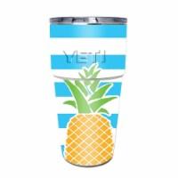 MightySkins YEPINT16SI-Beach Towel Skin for Yeti Rambler 16 oz Stackable Cup - Beach Towel