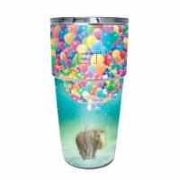 MightySkins YEPINT16SI-Elephant Balloons Skin for Yeti Rambler 16 oz Stackable Cup - Elephant - 1