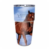 MightySkins YEPINT16SI-Horse Skin for Yeti Rambler 16 oz Stackable Cup - Horse