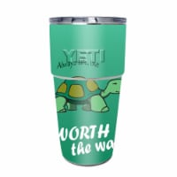 MightySkins YEPINT16SI-Late Turtle Skin for Yeti Rambler 16 oz Stackable Cup - Late Turtle