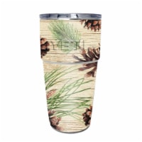 MightySkins YEPINT16SI-Pine Collage Skin for Yeti Rambler 16 oz Stackable Cup - Pine Collage