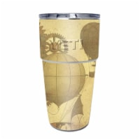 MightySkins YEPINT16SI-Steam Punk Paper Skin for Yeti Rambler 16 oz Stackable Cup - Steam Pun - 1