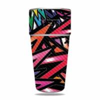 MightySkins CF-YERAM26SI-Color Bomb Carbon Fiber Skin for Yeti Rambler 26 oz Stackable Cup -
