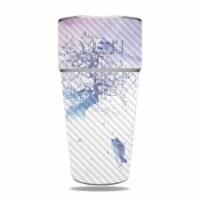 MightySkins CF-YERAM26SI-Long Way To Fuji Carbon Fiber Skin for Yeti Rambler 26 oz Stackable
