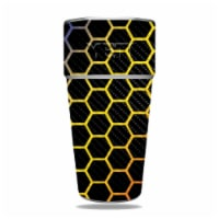 MightySkins CF-YERAM26SI-Primary Honeycomb Carbon Fiber Skin for Yeti Rambler 26 oz Stackable