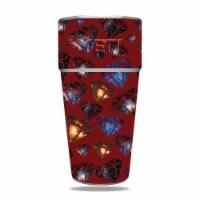 MightySkins YERAM26SI-Diamond Galaxy Skin for Yeti Rambler 26 oz Stackable Cup - Diamond Gala - 1