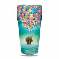 MightySkins YERAM26SI-Elephant Balloons Skin for Yeti Rambler 26 oz Stackable Cup - Elephant
