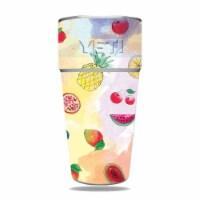 MightySkins YERAM26SI-Fruit Water Skin for Yeti Rambler 26 oz Stackable Cup - Fruit Water - 1
