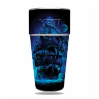 MightySkins YERAM26SI-Pirate Storm Skin for Yeti Rambler 26 oz Stackable Cup - Pirate Storm - 1