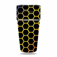 MightySkins YERAM26SI-Primary Honeycomb Skin for Yeti Rambler 26 oz Stackable Cup - Primary H