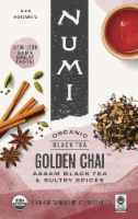 Numi Organic Golden Chai Tea - 16 ct