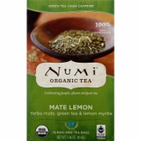 Numi Organic Mate Lemon Tea Bags