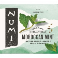 Numi Organic Moroccan Mint Herbal Tea, 0.77 Pound -- 1 each. - 1-100 COUNT
