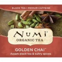 Numi Organic Golden Chai Black Tea -- 100 per case. - 1-100 COUNT