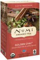 Numi Organic Tea Golden Chai, Full Leaf Black Tea in Teabags, 18-Count Box (Pack of 6) - 5
